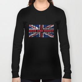 Union Jack Cockney Rhyming Slang Long Sleeve T-shirt