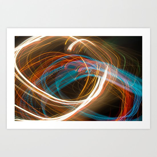 Lights I Art Print