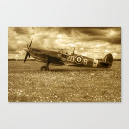 Spitfire MH434 Canvas Print