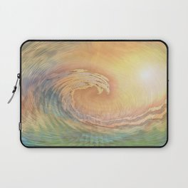 Cosmic Wave Laptop Sleeve