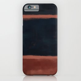 Rothko Inspired #27 iPhone Case