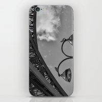 eiffel iPhone & iPod Skins featuring Eiffel by Sébastien BOUVIER
