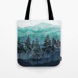 Mountains II Tote Bag