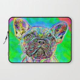 French Bulldog Painting Laptop Sleeve