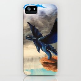 Toothless, Dragons, Flying iPhone Case