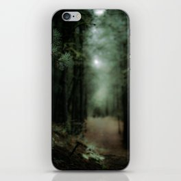 In the forest of Washington state, ponderosa pine trees iPhone Skin