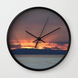 Cape Sounio 2 Wall Clock