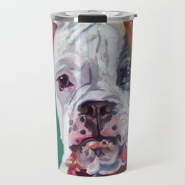 Boxer Dog Portrait Travel Mug