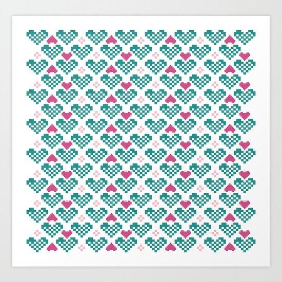 PX  Heart 2 Art Print