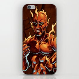 Cluster Fight iPhone Skin
