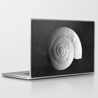 shell Laptop & iPad Skins featuring Shell by Studio Art Prints