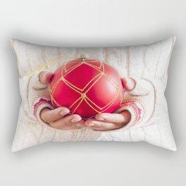Christmas balls Rectangular Pillow