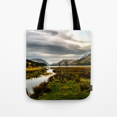 Feeding the waters Tote Bag