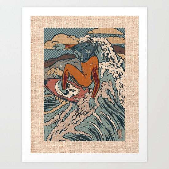Media Surf Art Print