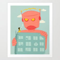 Yoshimi Revisited Art Print