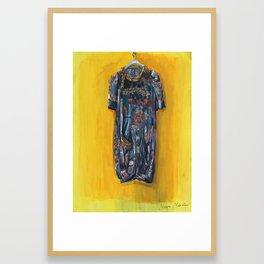 Poet's Dress Framed Art Print