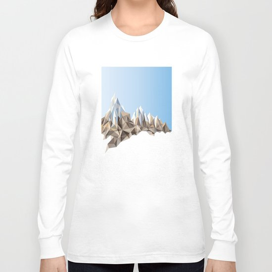 The Top Of The World No. 1 Long Sleeve T-shirt
