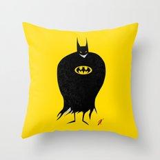 The Bat Creep Throw Pillow