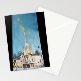 Atlanta GA LDS Temple Tie Stationery Cards
