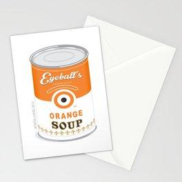 eyeball's soup Stationery Cards