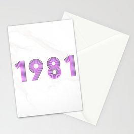 1981 Stationery Cards
