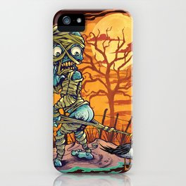 Mummy At The Beach iPhone Case