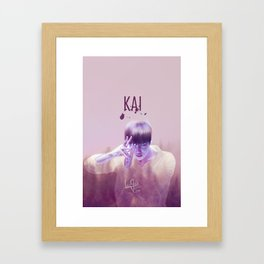 Kai - Dance Machine Framed Art Print