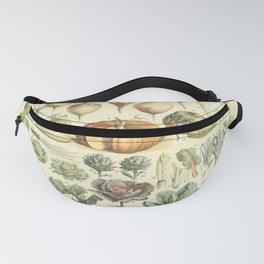 Vegetable Identification Chart Fanny Pack