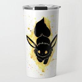 Eevee Splash Silhouette Travel Mug