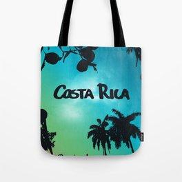 Costa Rica - Tropical Rainforest Poster Tote Bag