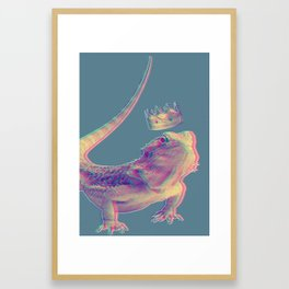 Lizard King Framed Art Print