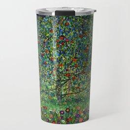 The Apple Tree Gustav Klimt Travel Mug