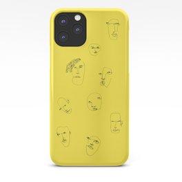 Feeling yellow iPhone Case
