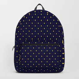 Stars in Blue Backpack