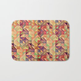 Triangular Patchwork Bath Mat