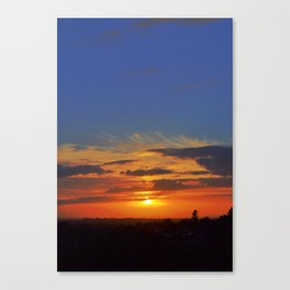 The colours we burn Canvas Print
