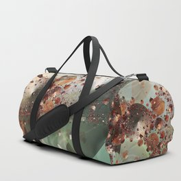 Copper Explosion Duffle Bag