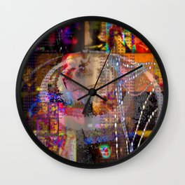 State of Emergency Wall Clock