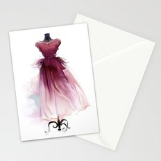 Beautiful dress Stationery Cards