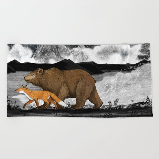 Nightwalkers Beach Towel