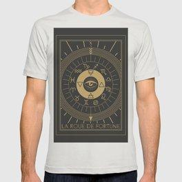 La Roue de Fortune or Wheel of Fortune Tarot T-shirt