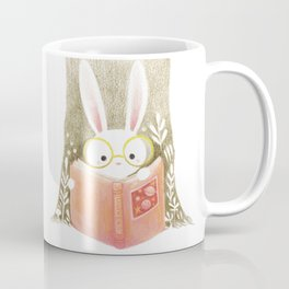 Bunny with glasses Coffee Mug