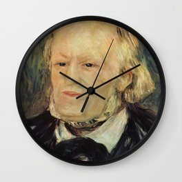Richard Wagner (1813 – 1883) by Auguste Renoir (1841 - 1919) in 1882 Wall Clock