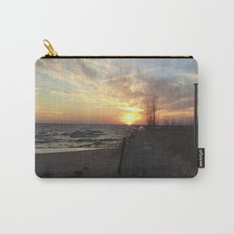 Lake Michigan Pier Carry-All Pouch
