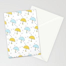 Umbrellas Stationery Cards