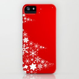 Red Christmas iPhone Case