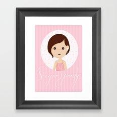 Sugarparty Framed Art Print