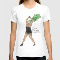 tina fey T-shirts featuring Tina Turnip by Pattavina