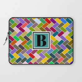 B Monogram Laptop Sleeve
