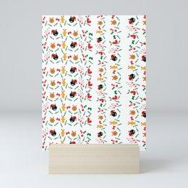 Christms decoration pattern Mini Art Print